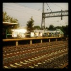 Dinky arrives at Princeton Junction http instagr a