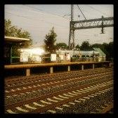 Dinky arrives at Princeton Junction http instagr a