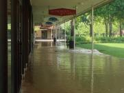 princeton shopping center underwater