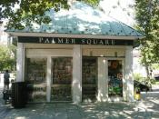 the international newsstand in Palmer Square